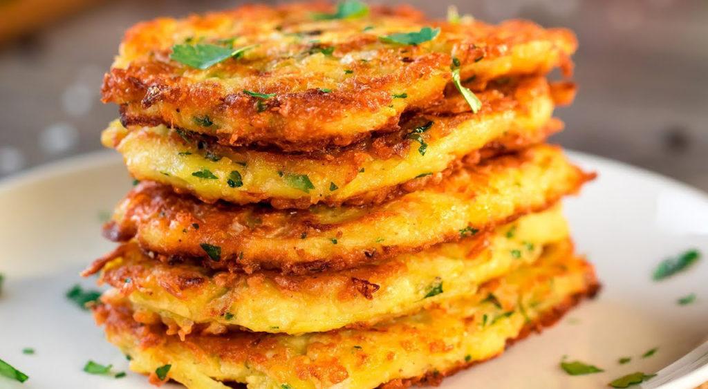 I pancakes di patate come non li avete mai mangiati, gustosi e dietetici con sole 150 calorie!