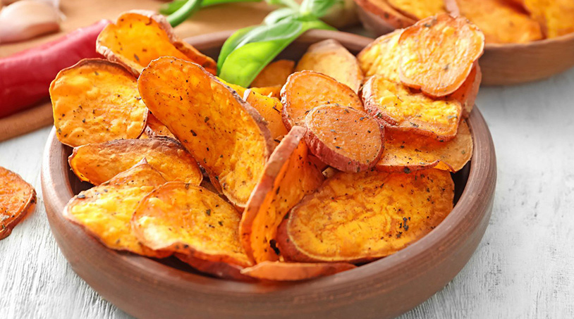 Le patate dolci americane: il segreto per farle buone, croccanti e con sole 105 calorie!