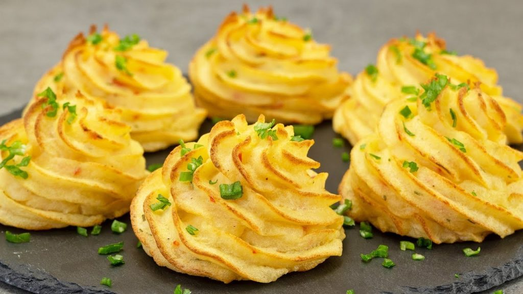 Le patate duchessa, un contorno gustoso e sfizioso di sole 120 calorie!