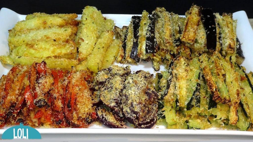 Le verdure pastellate al forno come quelle fritte, un contorno gustoso e leggero con sole 150 calorie!