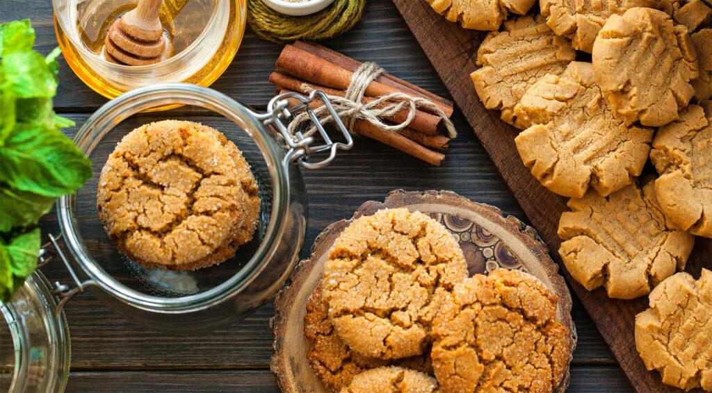 Biscotti alla cannella senza burro, latte e uova, super dietetici con sole 30 calorie!