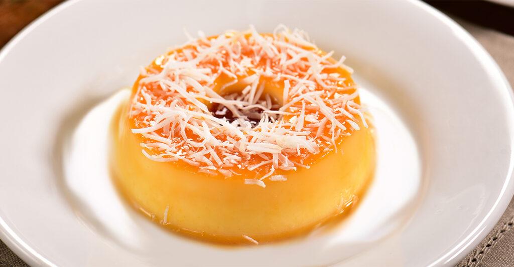 Il budino di polenta al cocco, un dolce sfizioso e leggerissimo con sole 130 calorie!