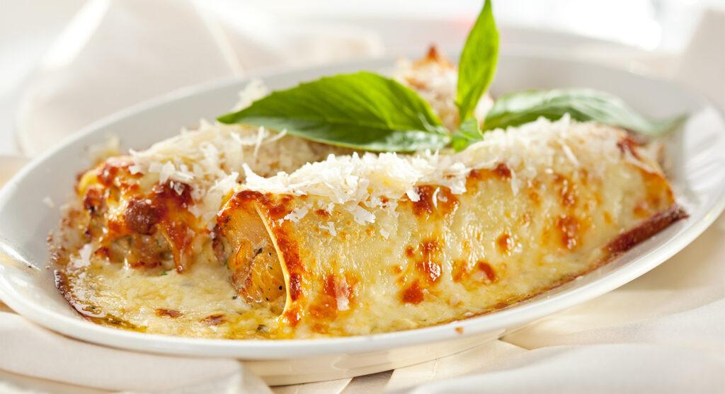 Cannelloni di patate e porcini, un primo piatto gustoso e leggero con sole 270 calorie!