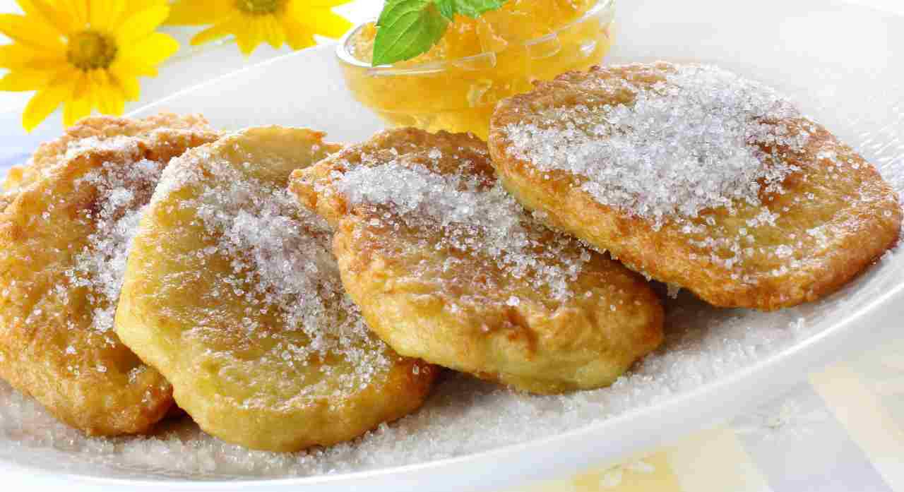 Frittelle di patate zuccherate