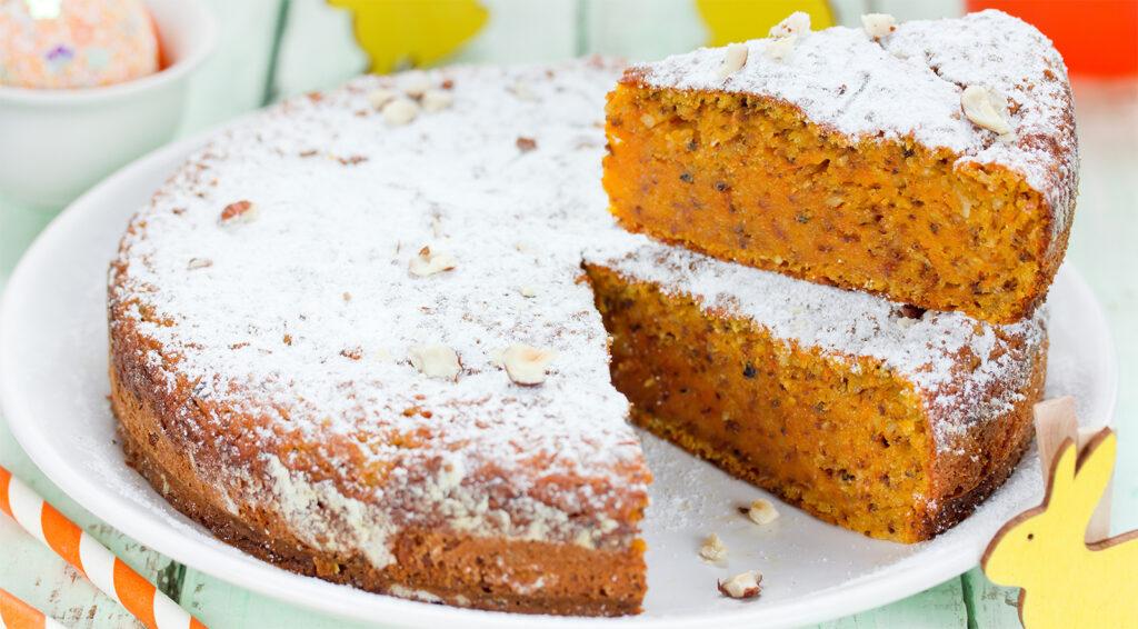 La torta di zucca e ricotta senza burro, un dolce morbido di stagione con sole 160 calorie!