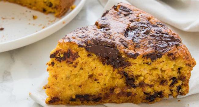 La torta di zucca e cioccolato light, un connubio perfetto con sole 160 calorie!