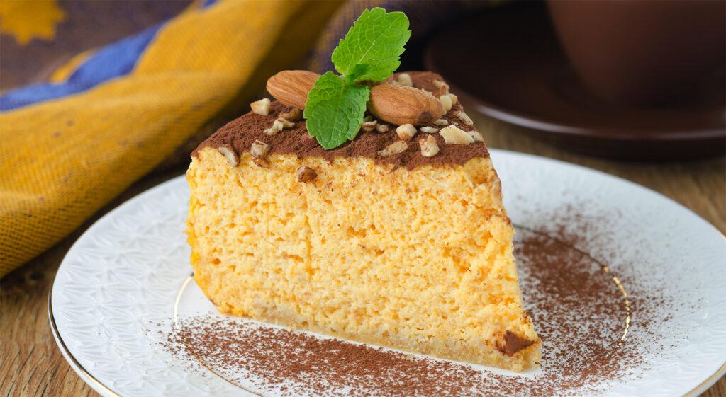 La torta sofficissima e super dietetica che si scioglie in bocca e con sole 65 calorie!