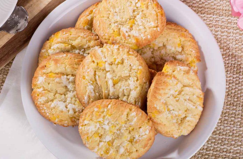 Biscotti al limone senza burro, uova e latte da gustare in ogni momento. Solo 40 calorie!