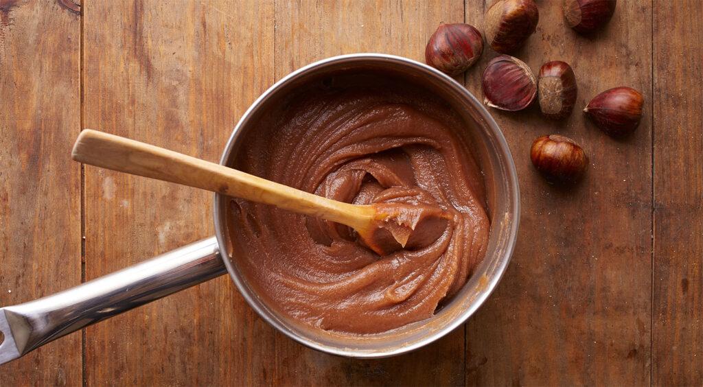 La crema di castagne light, un dolce gustoso, nutriente e leggero di sole 110 calorie!