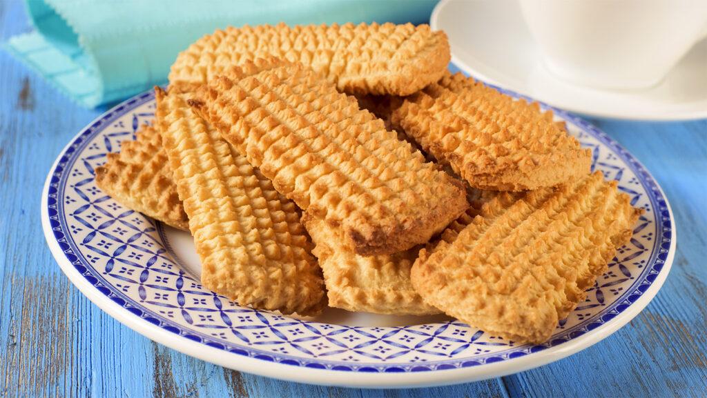 Biscotti integrali al miele senza burro e latte, per uno spuntino goloso e di sole 50 calorie!
