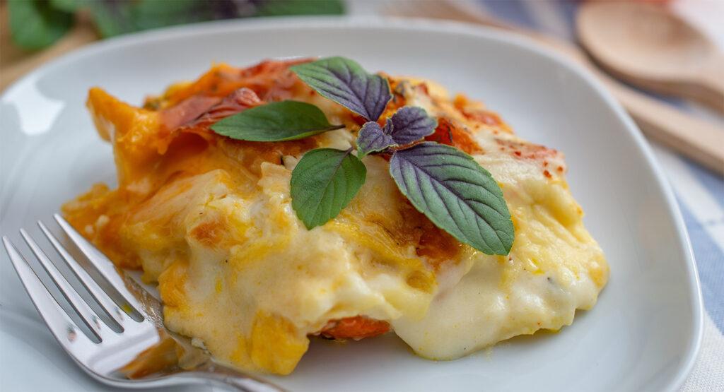 La parmigiana di zucca al forno sfiziosa e leggera per chi è a dieta e non solo!