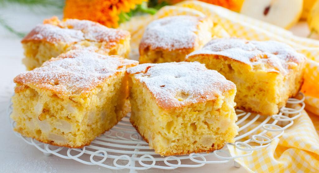La torta di mele e pere senza burro, una ricetta golosa e leggera di sole 170 calorie!