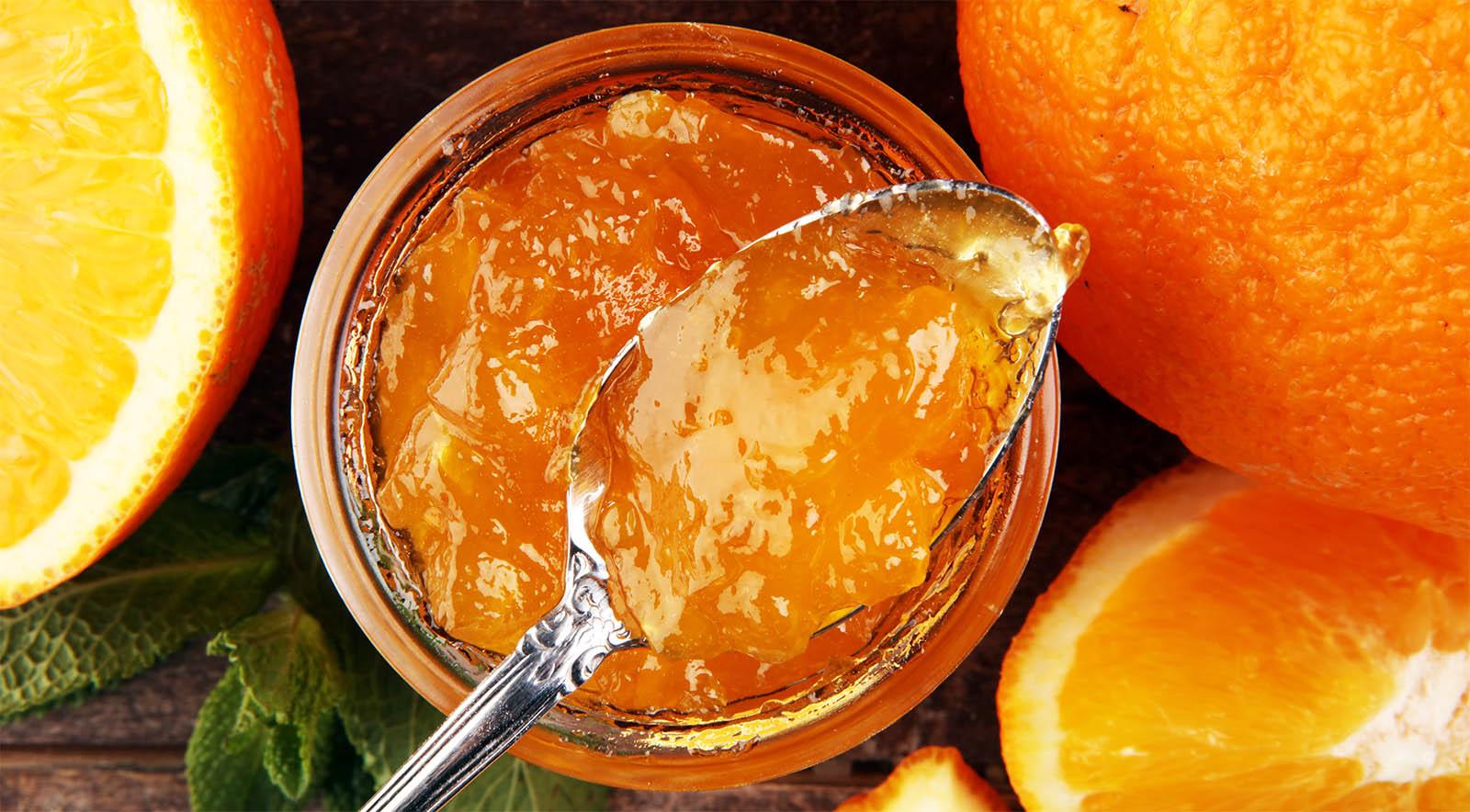 Marmellata di arance e mele senza zucchero