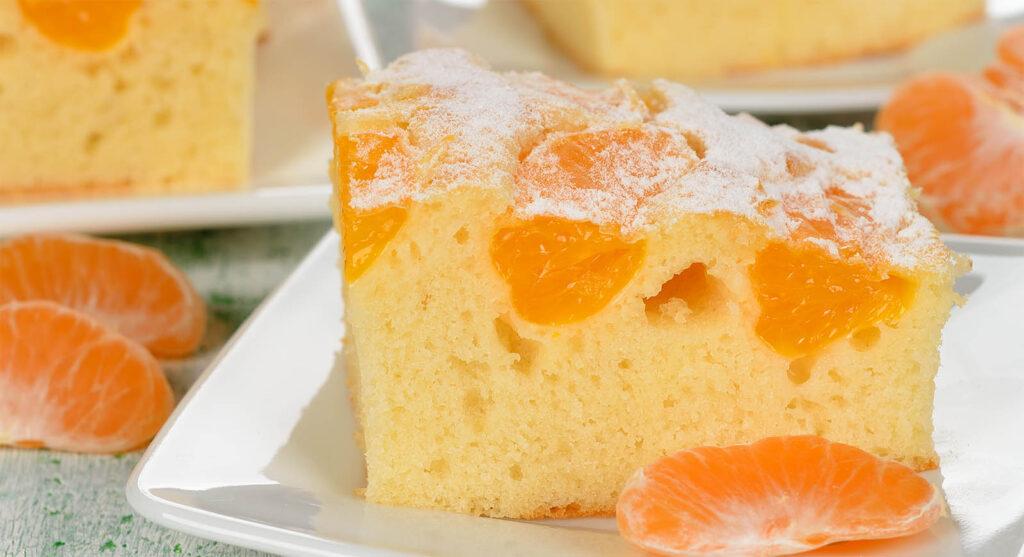 Pan di mandarino, una torta sofficissima come una nuvola e con sole 180 calorie!