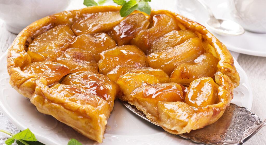 La tarte tatin di mele light, un dolce squisito che vi sorprenderà. Ha solo 140 calorie!