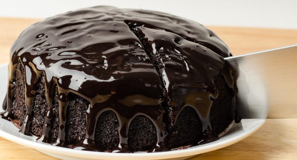 La torta al cioccolato light senza bilancia più buona della Sacher, ha solo 170 calorie!