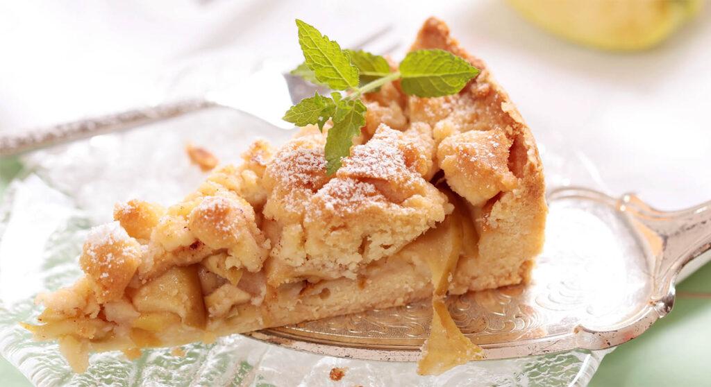 Torta di mele e pinoli, un dolce squisito e leggerissimo per chi è a dieta!