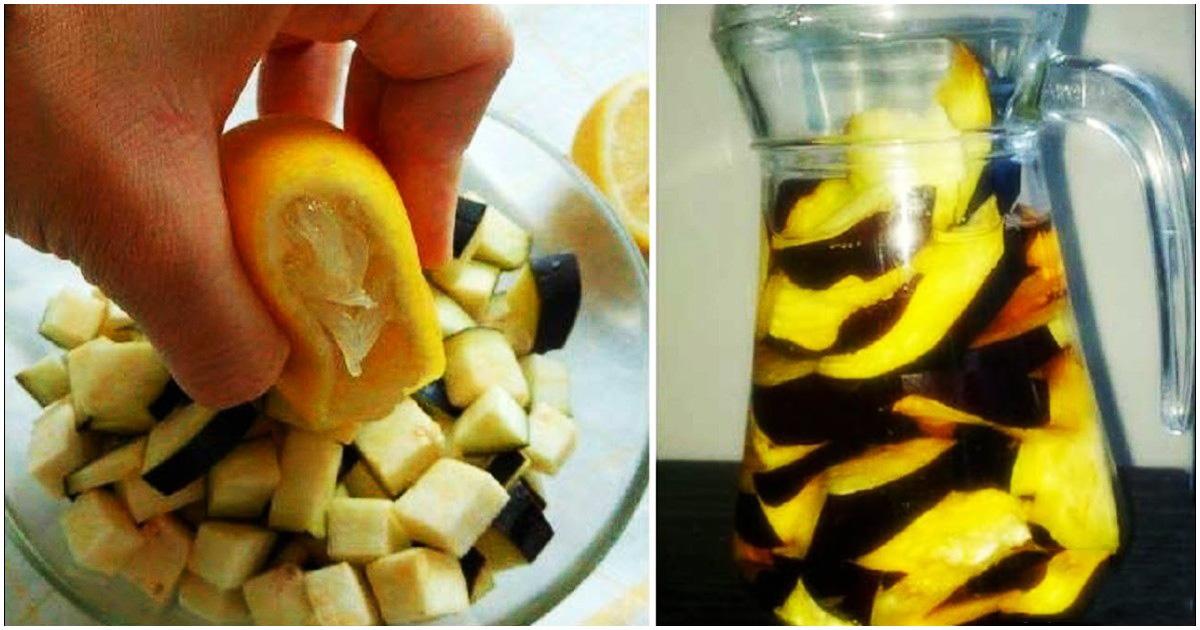 L'acqua di melanzane e limone