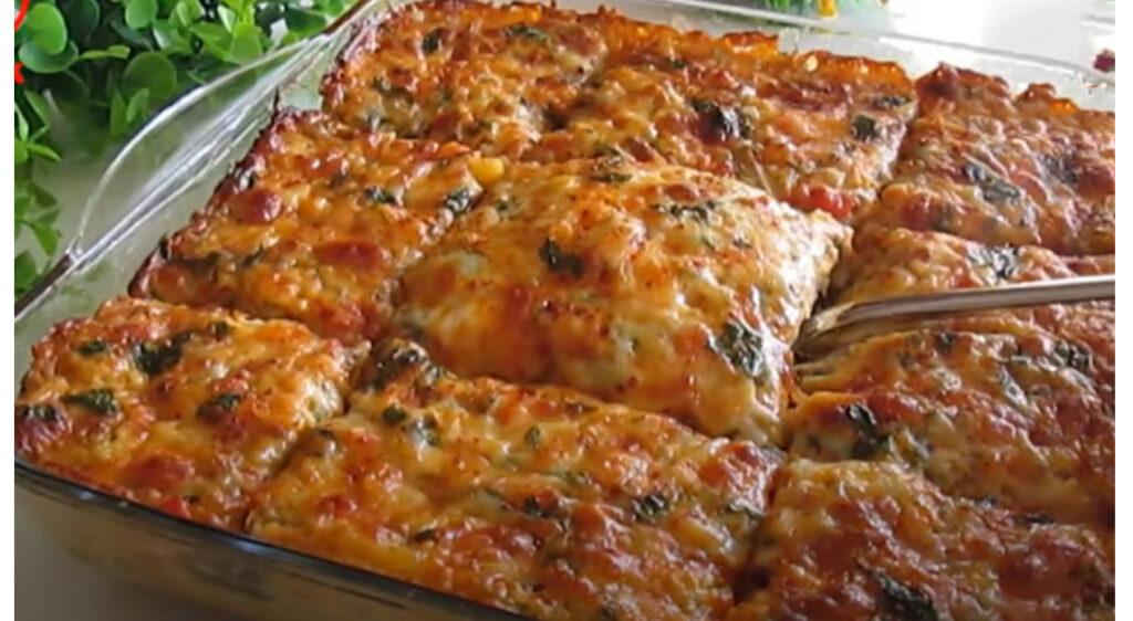 La lasagna di verdure super dietetica, senza carne e senza sfoglie. Solo 180 Kcal!