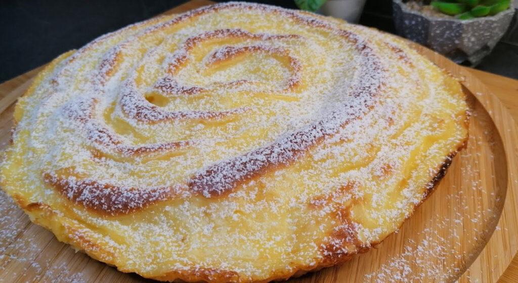 Prendi 2 mele e prepara questa torta spettacolare senza burro e olio. Solo 160 Kcal!