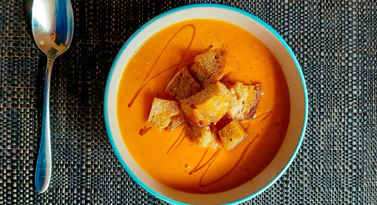 Vellutata di carote e finocchi