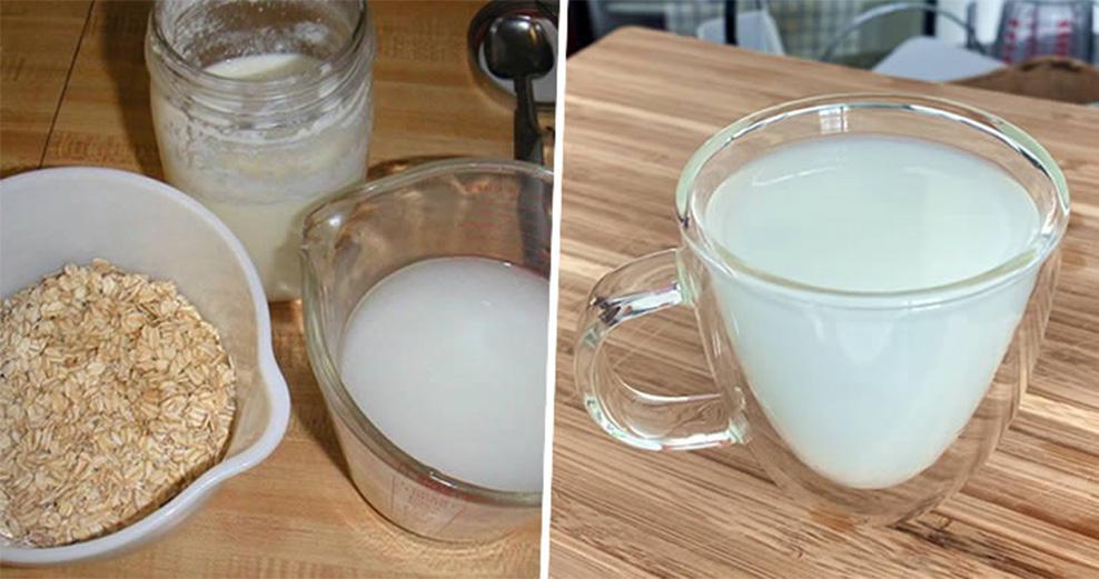 L'acqua d'avena per bruciare il grasso, ridurre il colesterolo e disintossicare il corpo