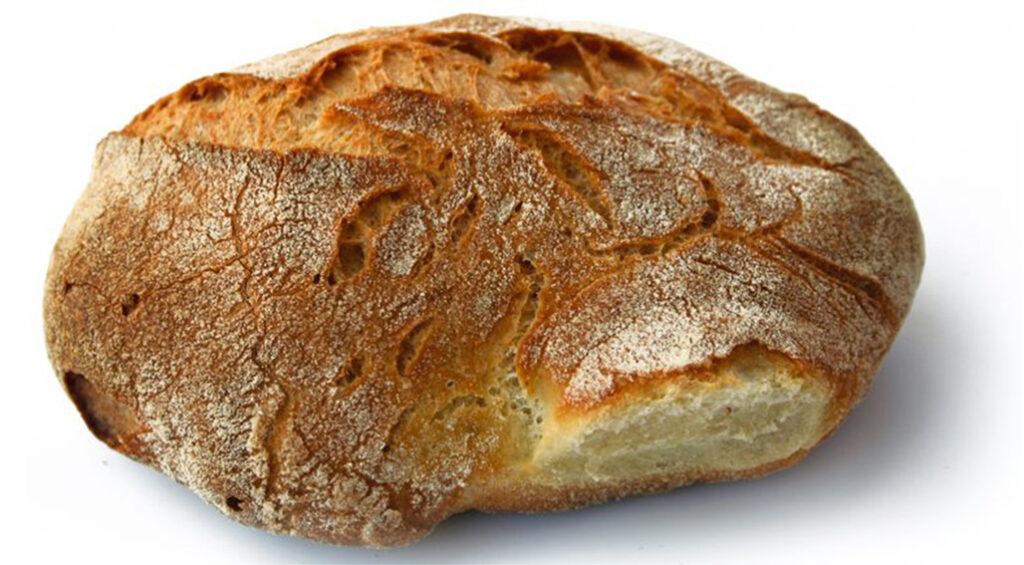 Pane casereccio senza impasto, così buono che non comprerai più pane. Solo 180 Kcal!
