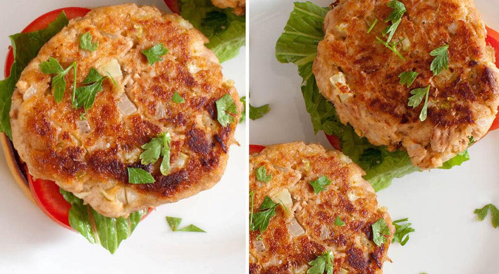 Hamburger di tonno fit, la ricetta consigliata dagli sportivi per perdere peso. Solo 160 Kcal!
