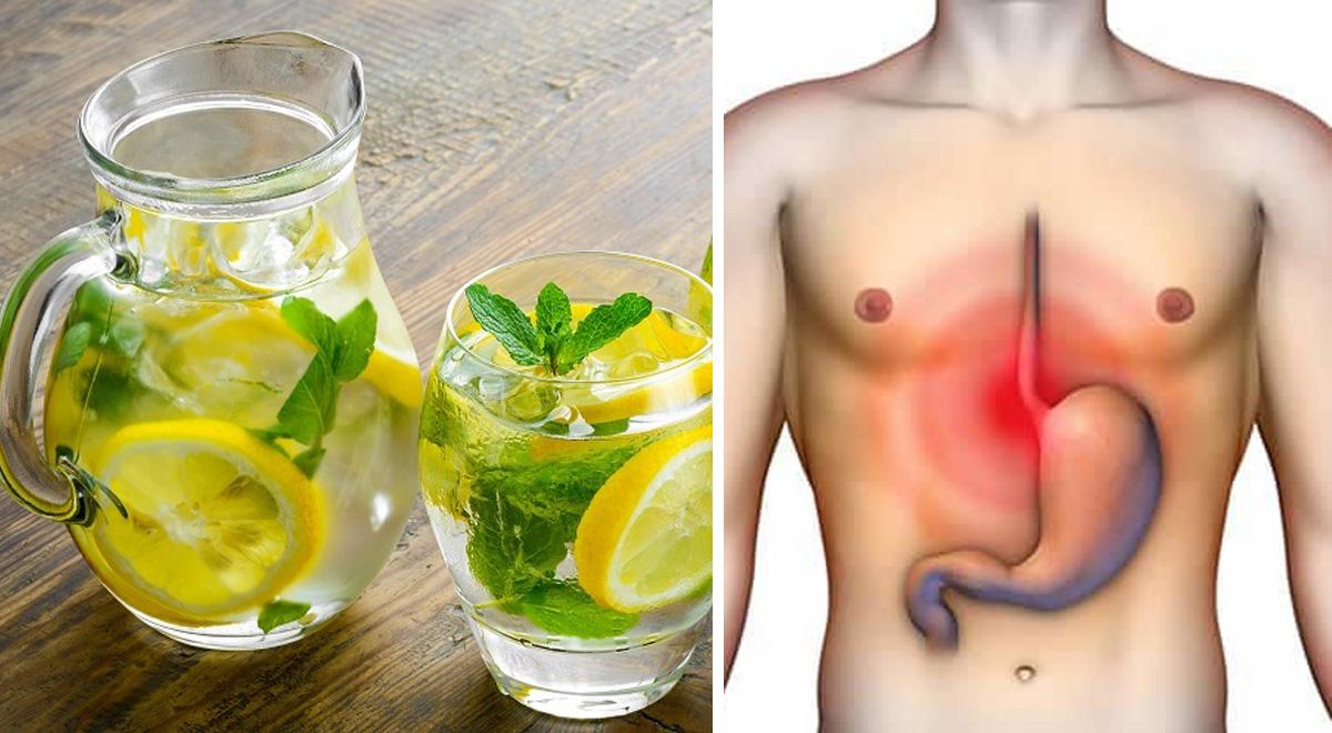 L'acqua di menta contro mal di stomaco e infezioni