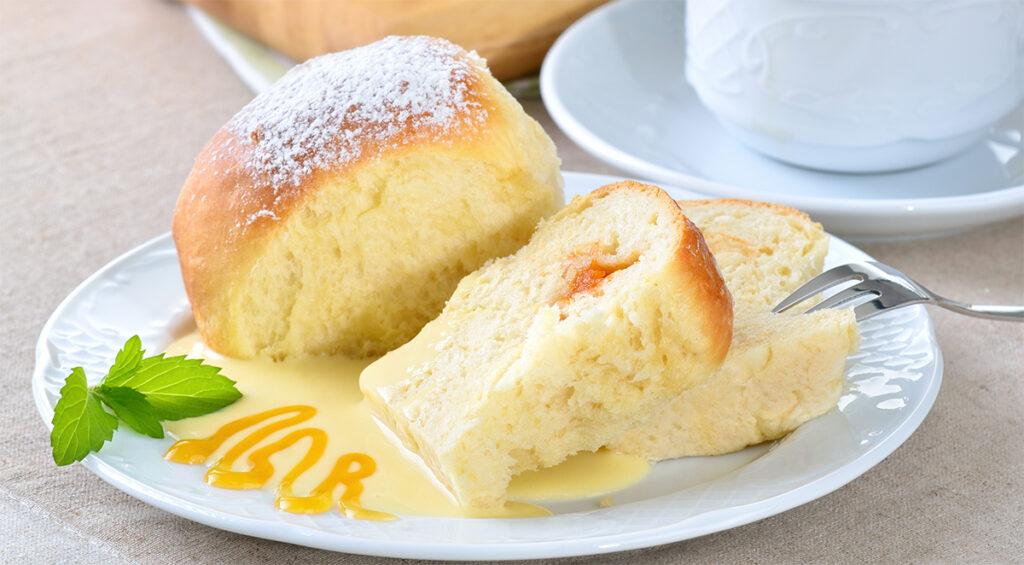 Torta Brioche al limone senza burro, sofficissima da inzuppare nel latte. Solo 180 Kcal!