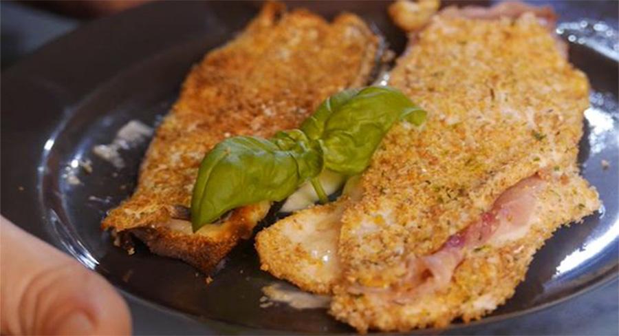 L'impanatura light senza uova e pangrattato, perfetta per impanare pollo, pesce e verdure.