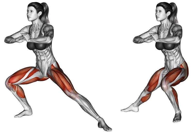 Squat laterali