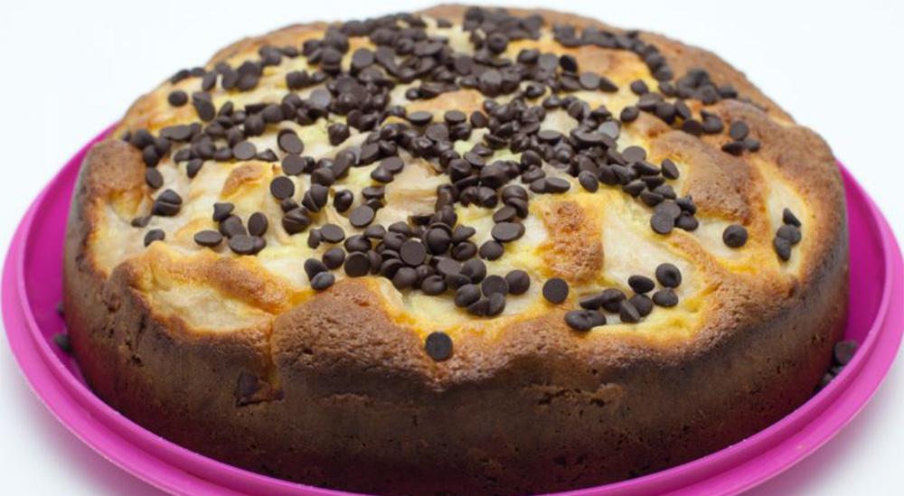 Il Dolce del due, la torta light al latte e ricotta facile e velocissima da fare. Solo 170 Kcal!