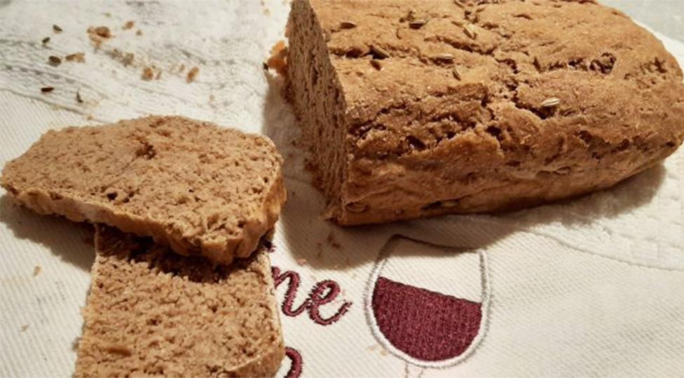 Pane di segale integrale al 100%, ottimo per la dieta e a basso indice glicemico. Solo 180 Kcal!