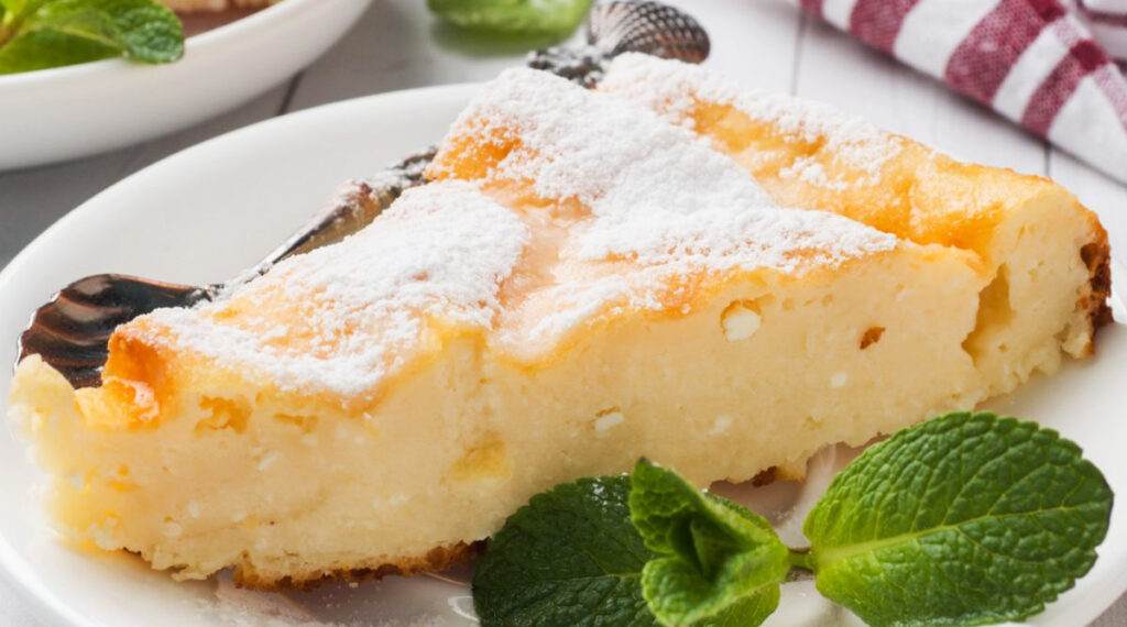 Cremosa e alla ricotta, il dolce light senza grassi ottimo per chi è a dieta. Solo 140 Kcal!