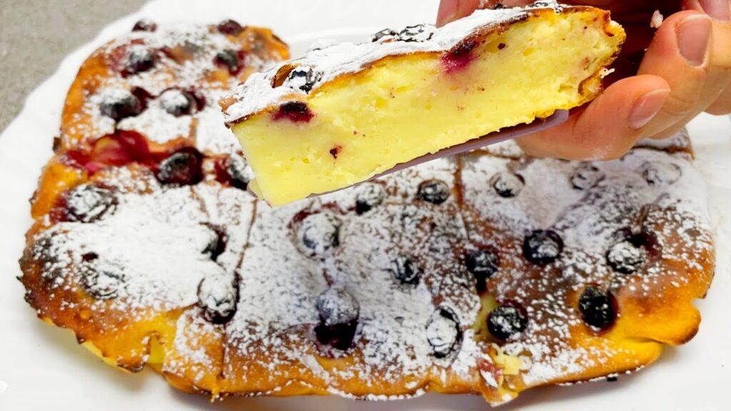 Il dolce perfetto per la colazione SENZA farina, burro e latte in 5 minuti. Ha solo 160 Kcal!