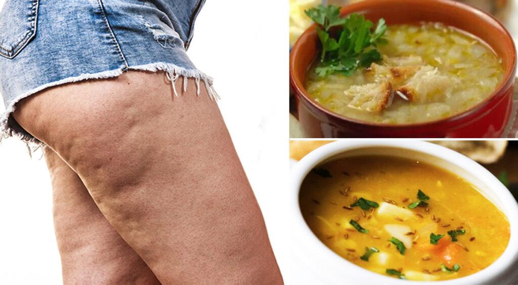 6 zuppe diuretiche che aiutano a dimagrire e ad eliminare la ritenzione dei liquidi
