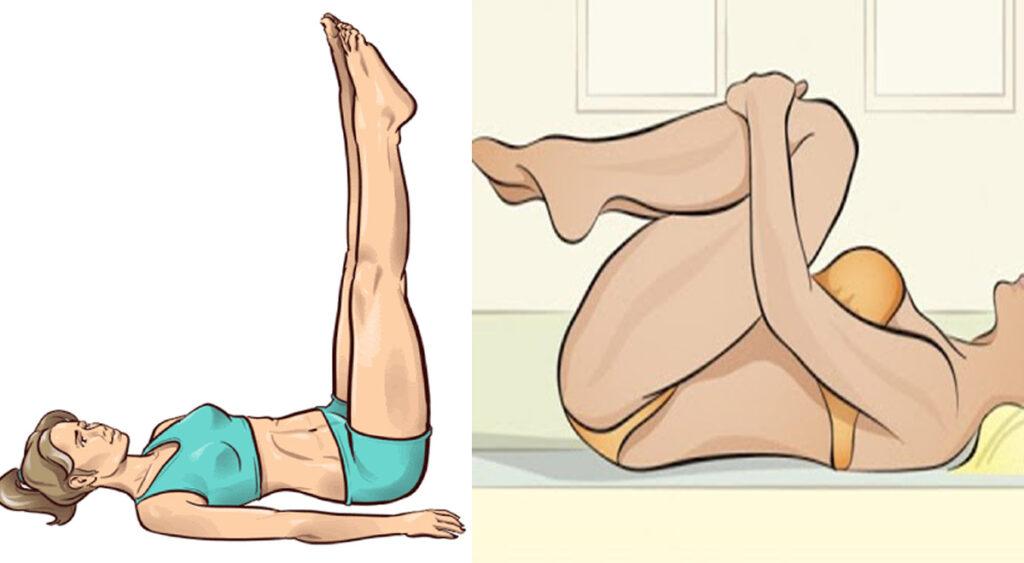 3 esercizi per snellire le gambe prima di andare a letto in soli 3 minuti