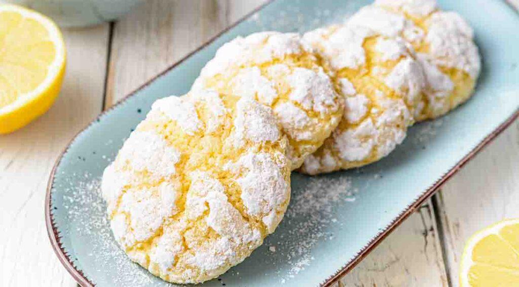 Biscotti senza glutine, burro e latte, perfetti per chi soffre di intolleranza. Ha solo 50 Kcal!