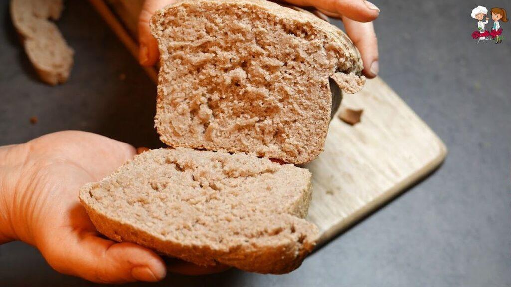 Pane di segale integrale al 100%, ottimo per la dieta. Non comprerete più pane!