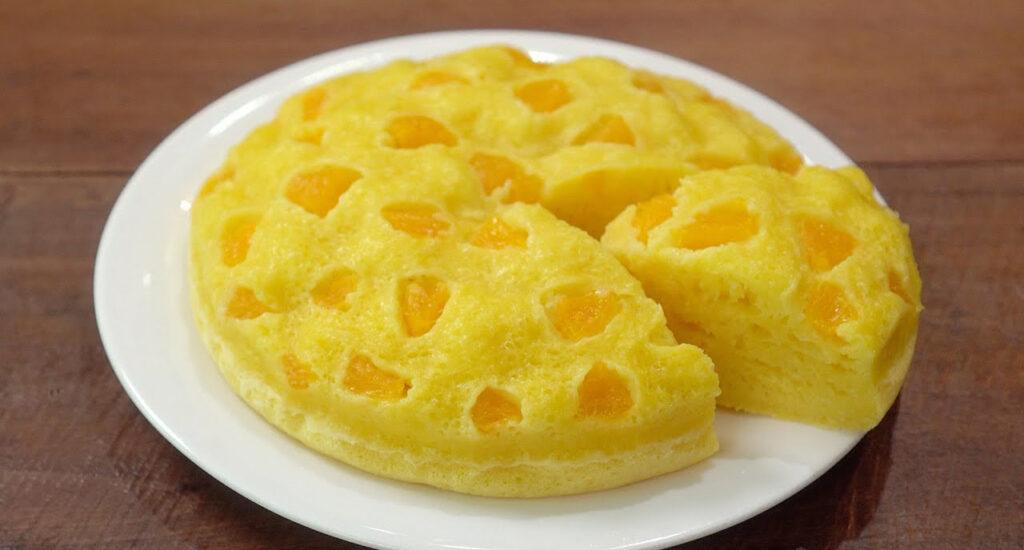 Pane dolce al mandarino, ottimo quando ti assale la voglia di dolce. Ha solo 120 Kcal!