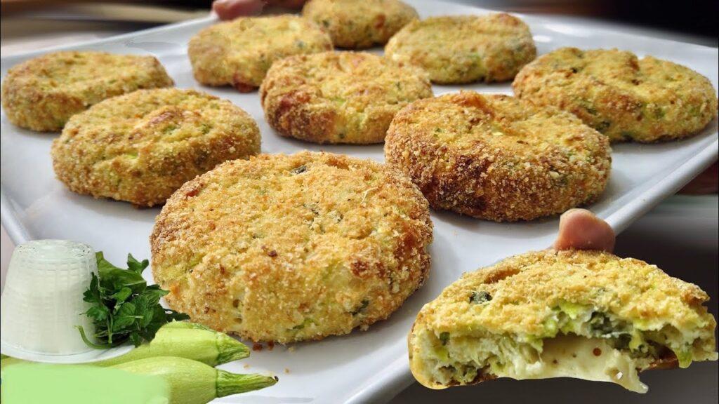 Le super polpette di ricotta e zucchine, le avete provate? Deliziose, hanno solo 90 Kcal!