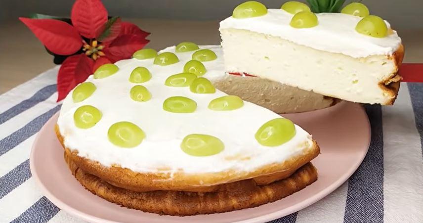 Avete mai provato una torta così cremosa? Senza farina, burro e olio. Ha solo 170 Kcal!