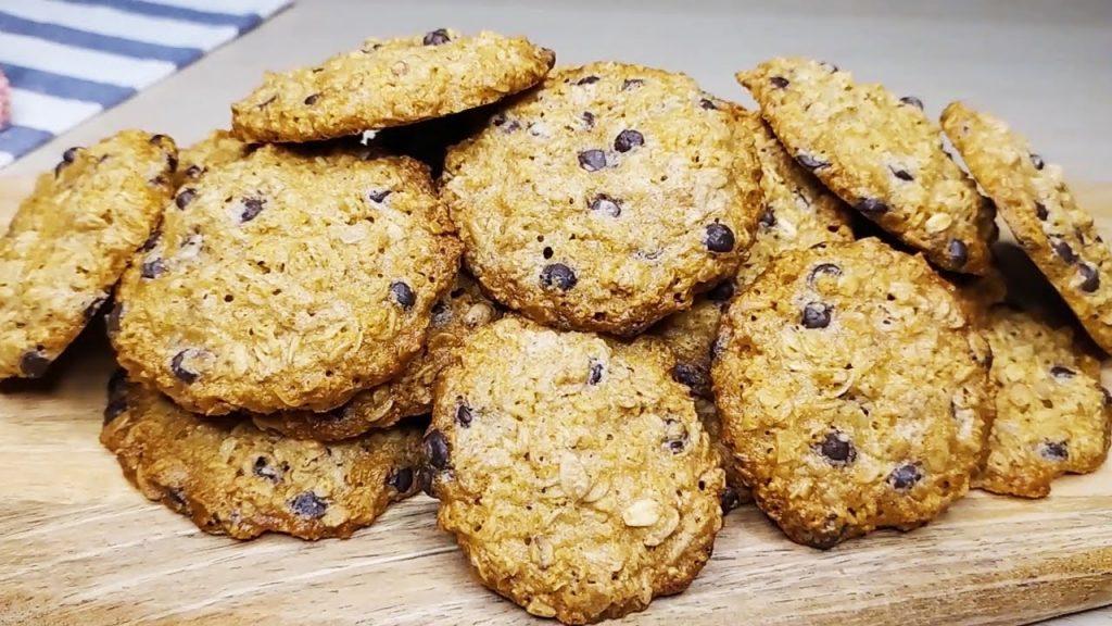 Biscotti integrali per la prima colazione, pronti in 10 minuti. Li farete sempre!
