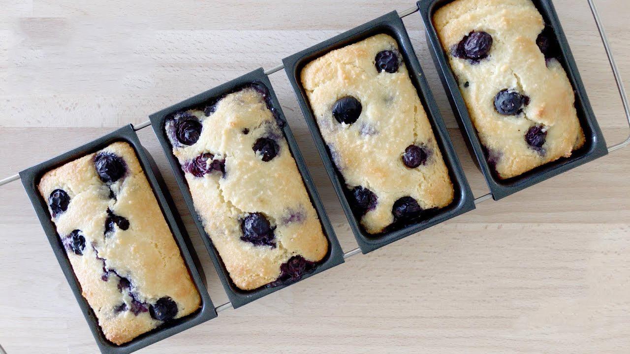 Muffin keto ai mirtilli