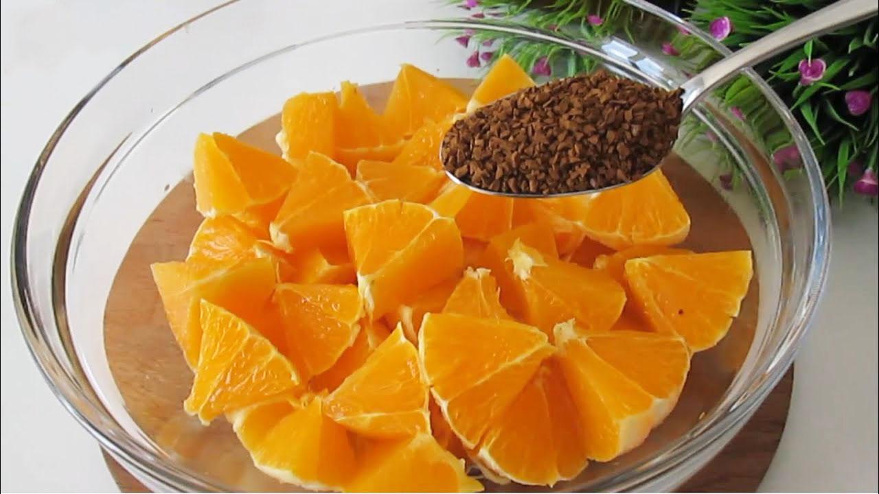 Torta all'arancia e caffè light