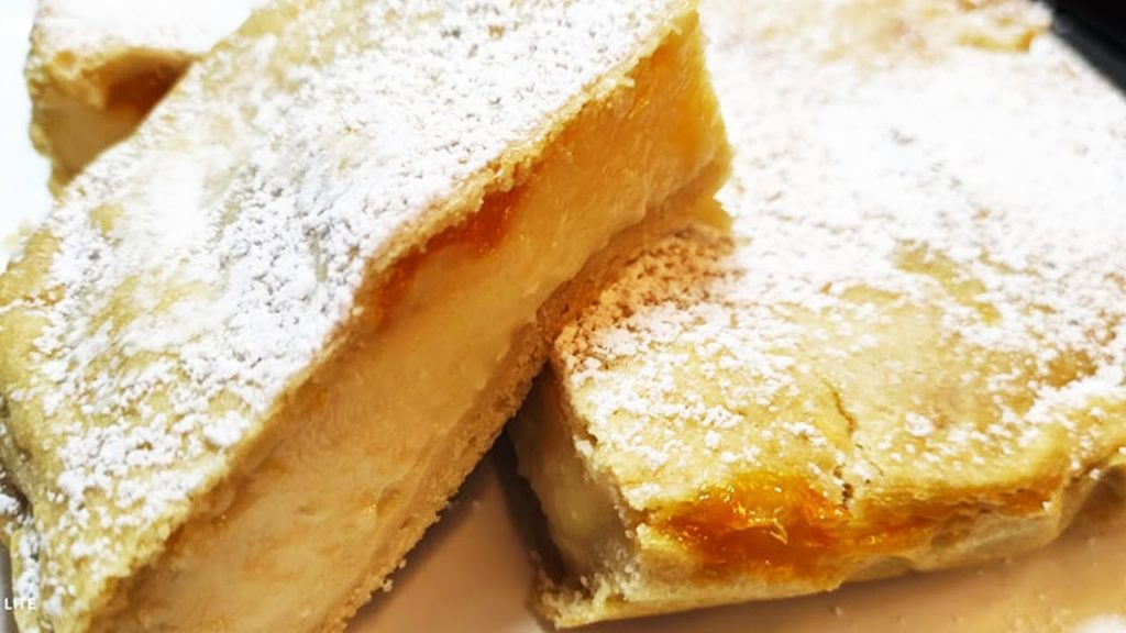 La torta pasticciotto con crema di mandorle e pasta frolla light. Solo 150 calorie!