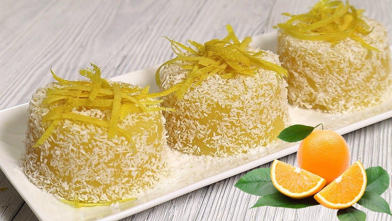 Dessert all'arancia