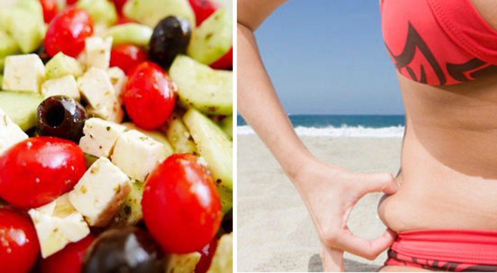 La dieta che ti fa perdere peso e tornare subito in forma andando al mare