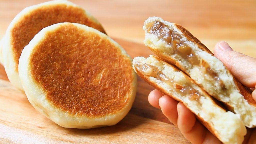 Il pane super dolce in padella, sicuramente più buoni dei pancake. Solo 190 Kcal!